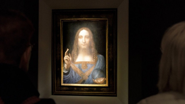 L'ovra Salvator Mundi ha midà maun per 450 milliuns dollars.