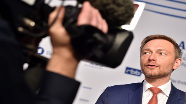 Christian Lindner, schef da la FDP en Germania.