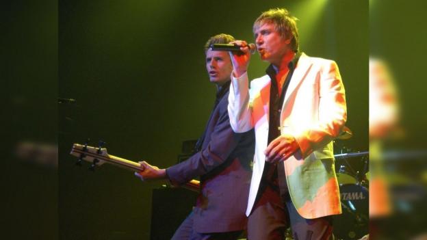 Duran Duran durant in concert