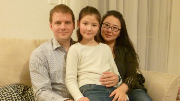Fotografia da la famiglia Suter a Losanna