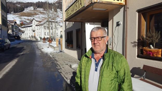 Balser Derungs da Ftan hotelier e um multifar.