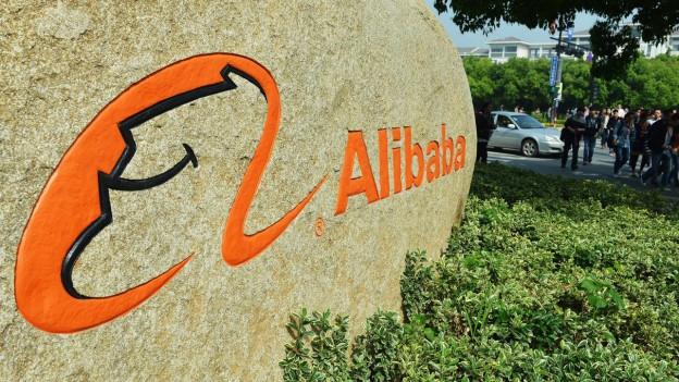 Entrada a la sedia d'Alibaba a Hangzouh en China