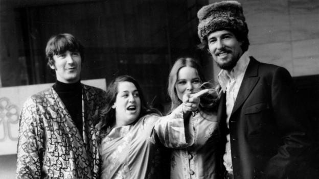 la band da John e Michelle Philips