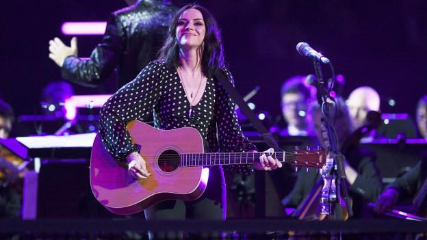 Amy Macdonald durant in concert