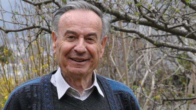 Il cumponist Gion Giusep Derungs (*1932)