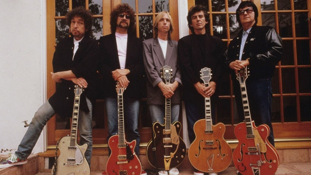 Bob Dylan, Jeff Lynne,Tom Petty, Georeg Harrison e Roy Orbison