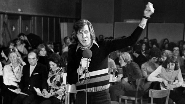 Jürg Marquard preschentà la 250avla parada da hits il 1972.