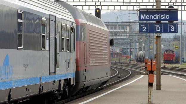 Staziun da tren Mendrisio.