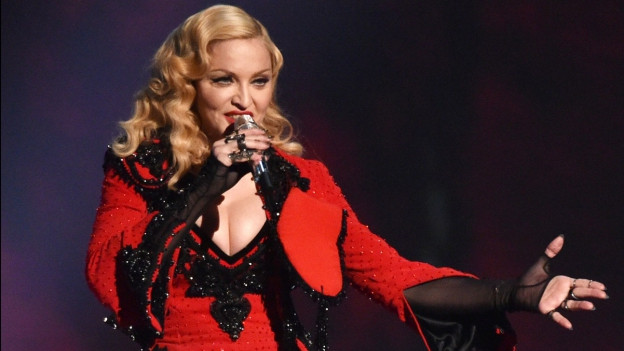 Madonna durant in concert