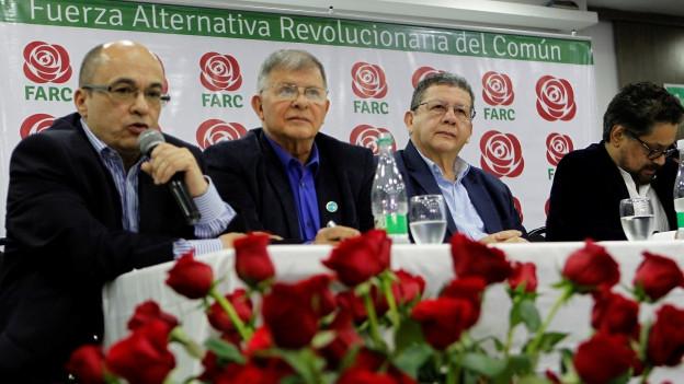 Commembers da la partida democratica FARC