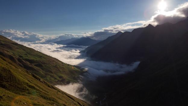 La Val Lumnezia cuvrida da nivlas.