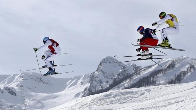 Skicross en la Corea dal Sid.