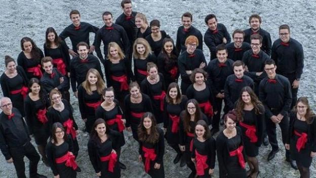 Martin Zimmermann e ses Chor da giuvenils grischun / BJC