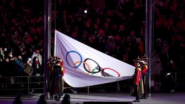 Ils gieus olimpics d'enviern en la Corea dal sid èn a fin