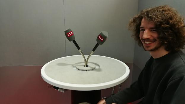 Kaufmann en il studio da RTR