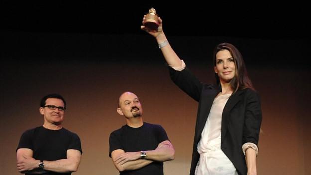 Sandra Bullock cun in «Razzie Award»