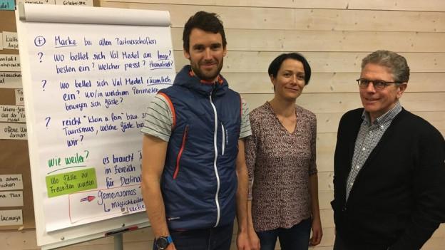 Lorenz Kurtz (sen) e Kristin Bonderer dal biro Planval e Peter Binz