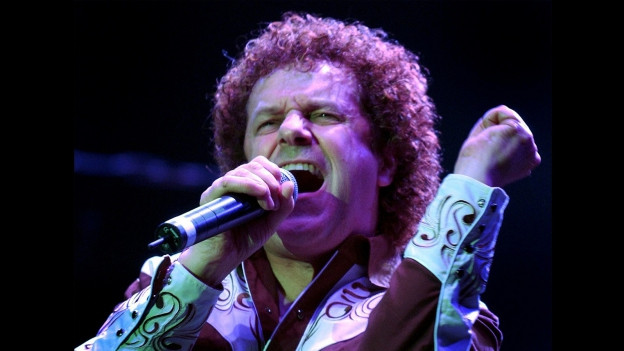 Leo Sayer durant in concert