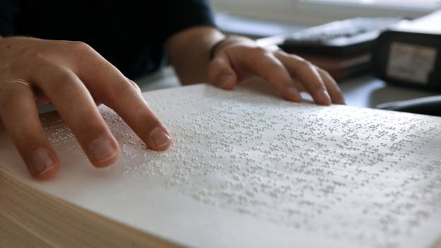Scrittira da Braille.