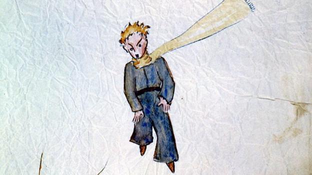 Il pitschen prinzi - dissegn d'Antoine de Saint-Exupéry
