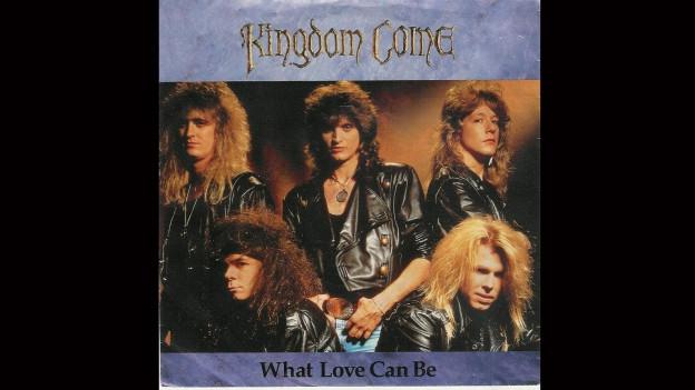 Cover da la single «What love can be» da Kingdom Come