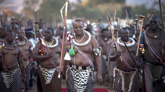 Il retg dad eSwatini Mswati III.