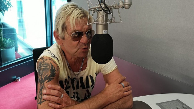 Matthias Reim el studio da Radio Rumantsch