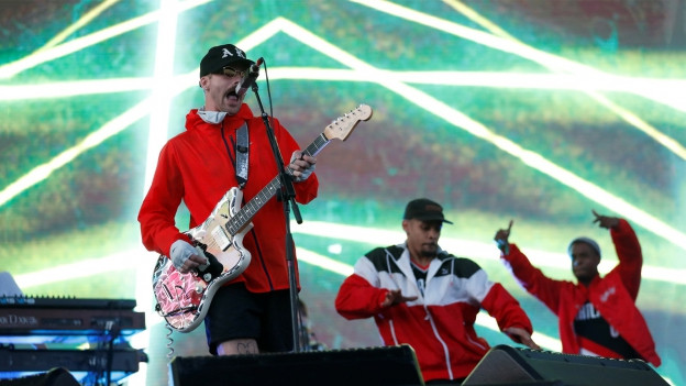 Portugal. The Man durant in concert