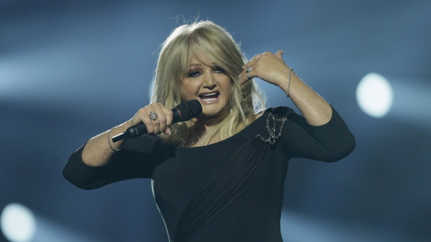 La chantadura britannica Bonnie Tyler.