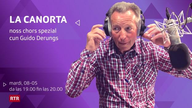 La Canorta cun Guido Derungs.
