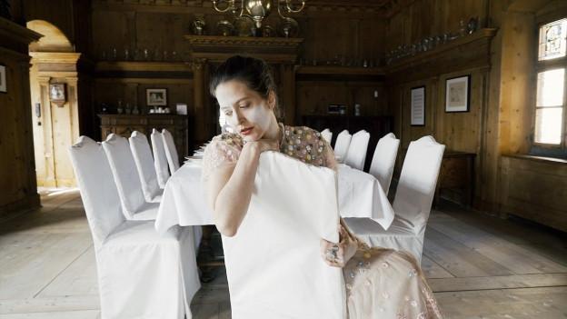 Bibi Vaplan en ses alter ego Miss Pompus