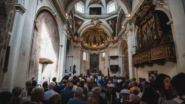 Producziuns da pag en la Chiesa Santa Maria