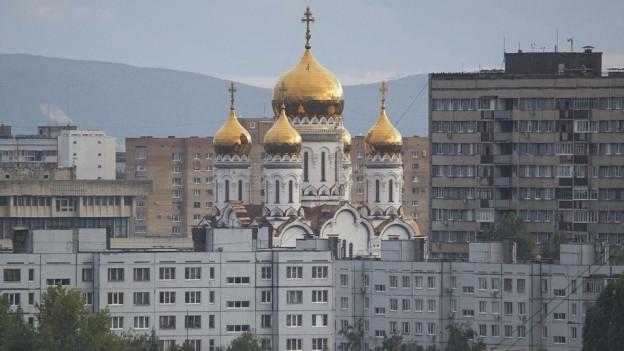 La citad russa Togliatti è in center d'industria e da sport
