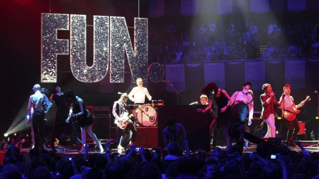 La gruppa Fun durant ils MTV Music Awards 2012