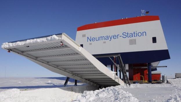 La serra da test Eden ISS fa part da la staziun da perscrutaziun tudestga Neumayer III en l'Antarctica