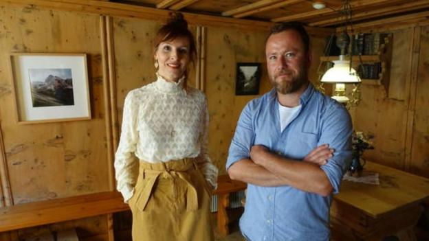 La fotografa Martina Bisaz ed il fotograf Ueli Alder.