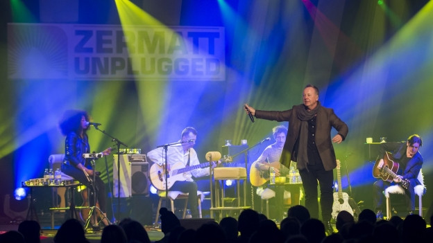 Simple Minds durant il Zermatt Unplugged 2016