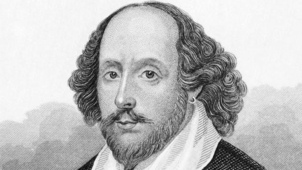 In disegn cun il chau da l'autru englais William Shakespeare