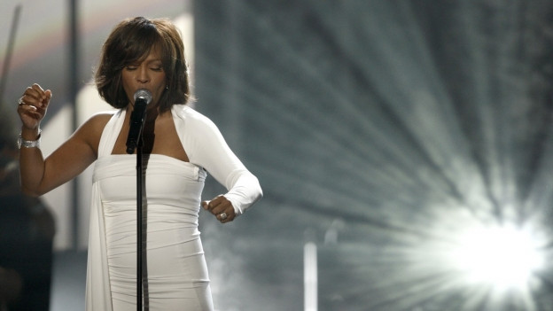 Whitney Houston durant in da ses concerts