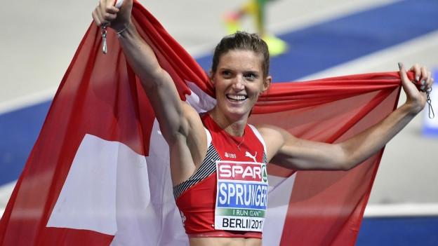 Lea Sprunger daventa campiunessa europeica a Berlin