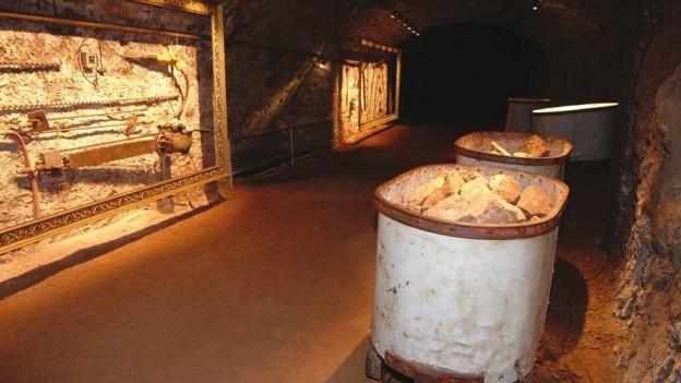 Las minas a Neuschatel