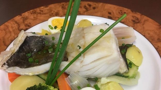 «Bacalhau cocido» è ina spezialitad dal nord da Portugal
