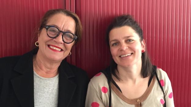 Claudia Knapp e Bettina Vital.