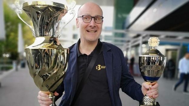 La BBO cun Corsin Tuor, victurs dal Swiss Open Contest