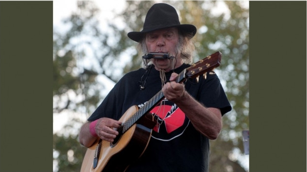 Neil Young durant in conzert