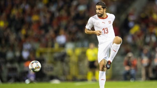 Ricardo Rodriguez cunter la Belgia