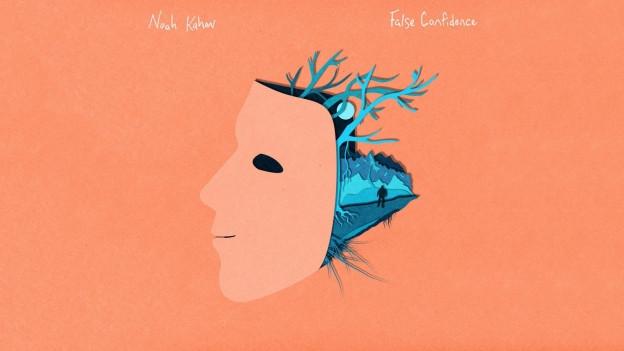Cover da la single «False Confidence» da Noah Kahan