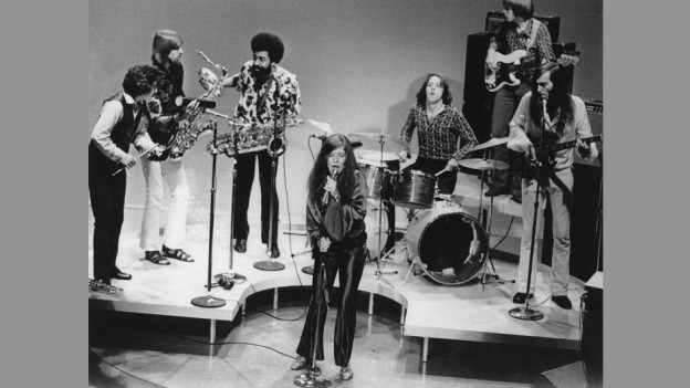 Jefferson Airplane durant in concert il 1969