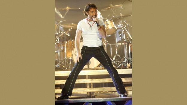 Paul Rodgers durant in concert l'onn 2005