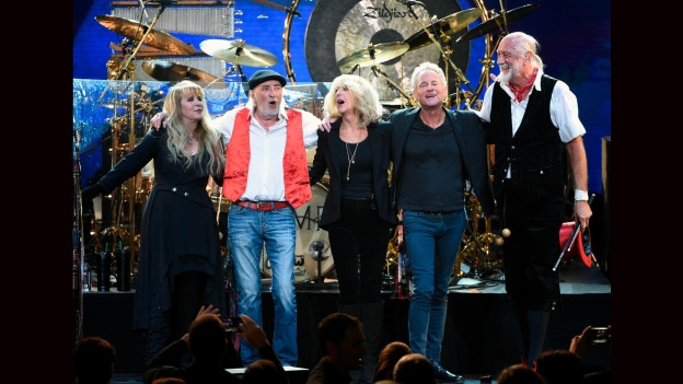 Fleetwood Mac suenter in concert il 2018